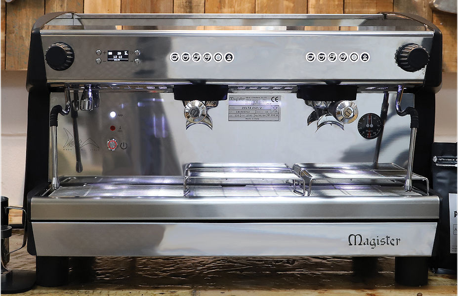 Qualitase Coffee Roasters - Magister 2 Group Espresso Machine