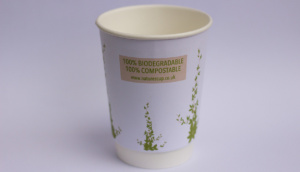 Natures Cup Compostable and Biodegradable Takeaway Cup