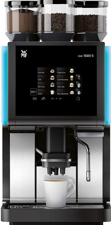 WMF 1500S Bean-to-Cup Coffee Machine for staff and customers